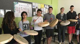 סדנת האינדיאנים במסגרת שיעורי ״אמריקה״