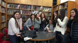 מפגש לתלמידים מצטיינים בחטיבת הביניים