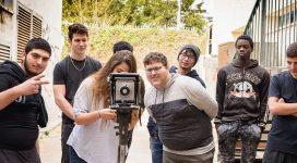 סדנא בטכניקת הקולודיון לכיתה יא' במגמת צילום